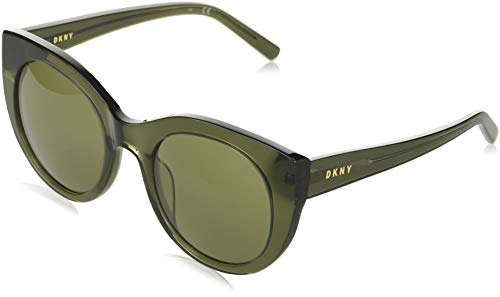 DONNA KARAN EYEWAR DK517S Gafas de sol, Crystal Green, 52 MM, 22 MM, 135 MM para Mujer