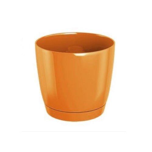 Pot de fleurs rond avec soucoupe 10 couleurs et 9 tailles