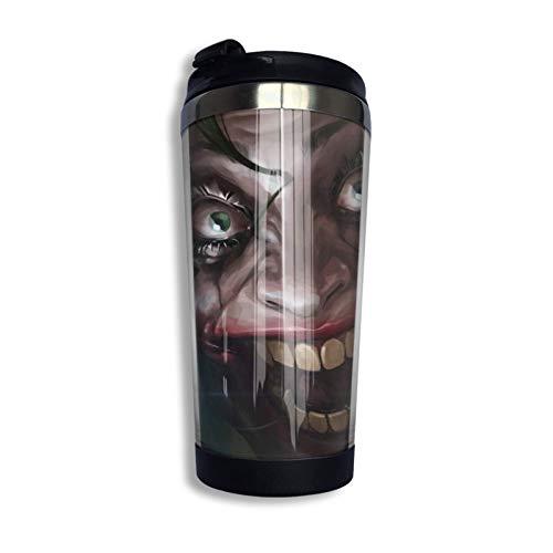 Vaso de café de viaje Taza de acero inoxidable Regalo para amantes de los animales Soy un actor-Ugly12