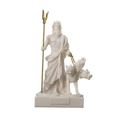 "Pluto Hades Lord of The Underworld Greek Statue Dead Figurine Museum 5.1"""