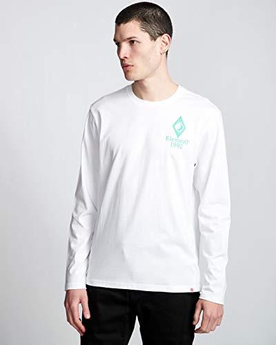 Element Ambience Longsleeve - Optic White - L