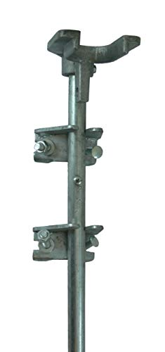 Chain Link Drop Rod/PIN Latch for 1-3/8' Frame Double Gate - Chain Link Fence. 36' Long.