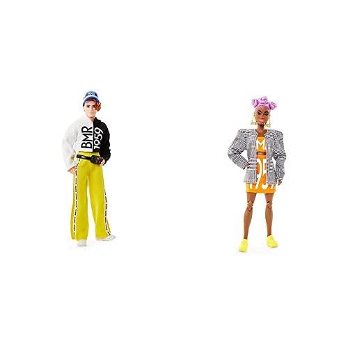 Barbie Muñeca Bmr 1959 (Mattel Gnc49)+ Muñeca Bmr 1959 (Mattel Gnc46)
