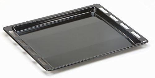DREHFLEX - Backblech/Blech/Universalpfanne passend für diverse Backofen/Herd von Bosch/Siemens/Constructa/Neff/Junker&Ruh- passend für Teile-Nr. 00666902/666902-441 x 370 x 25mm - emailliert