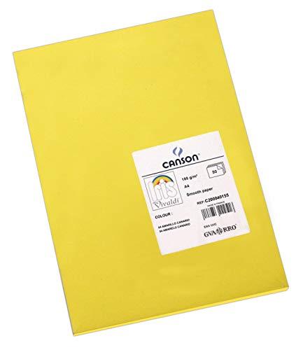 Cartulinas surtido fluorescente A4 170 g 50 hojas APLI 16216