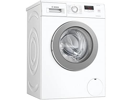 Bosch WAJ24027FF - Lavadora de mano frontal Serie 2 EcoSilence Drive 7 kg, 1200 rpm, 55 l, fino diferido 24 h, color blanco