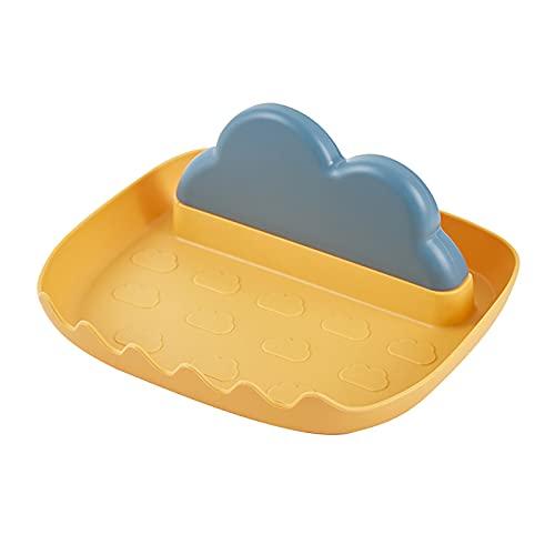 Supporto per utensili in silicone con gocciolatoio da cucina, con supporto per coperchio