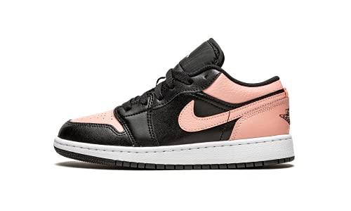 Air Jordan 1 Low 553560-034, Rosa y negro., 38 EU