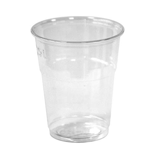 Bio wegwerp drinkbeker, composteerbaar, 500 ml, 0,5 l, 0 5, 50 stuks