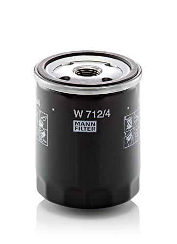 Original MANN-FILTER W 712/4 - Schmierölwechselfilter - für Industrie, Land- und Baumaschinen