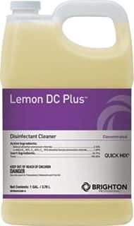 Brighton Professional Lemon DC Plus Disinfectant Cleaner Quick Mix Lemon Scent, 1 Gallon, Each (BPR0452QM-A/185)