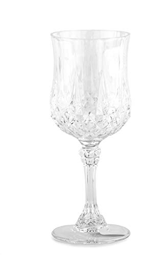 Eclat 14442 6 Verres à Pied 17 cl-Longchamp by, Cristallin, Transparent