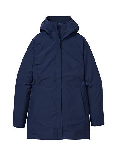 Marmot Wm s Essential Jacket Chubasquero rígido, Chaqueta Impermeable, a Prueba de Viento, Impermeable, Transpirable, Mujer, Arctic Navy, M