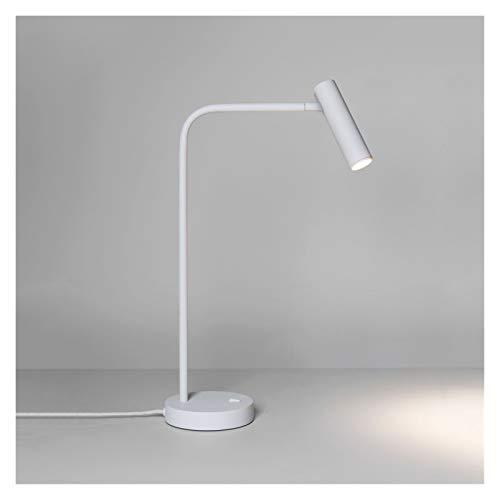 QHMDZ Interruptor basculante Mesa de Oficina lámpara de Lectura del Libro Interruptor de luz LED lámparas for el Estudio Dormitorio 2700K mesilla de Noche habitación lámpara de Escritorio