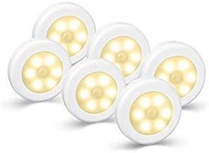 Gluckluz Motion Sensor Light LED Battery Operated Wireless Closet Night Lighting for Indoor Bedroom Kitchen Hallway Bathro...