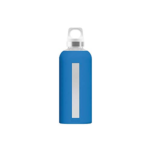SIGG Star Trinkflasche Glas 0.5 L 22.1 cm electric blue