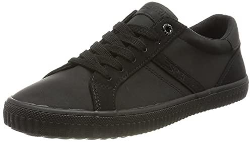 ESPRIT Damen 071EK1W301 Sneaker, 001/BLACK, 42 EU