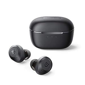 [Aktive Rauschunterdrückung] In Kombination mit der Feedforward- und Feedback-ANC-Technologie können unsere drahtlosen Ohrhörer Geräusche in einem größeren Bereich effektiv unterdrücken und Umgebungsgeräusche um bis zu 30 dB reduzieren, sodass Sie si...
