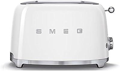 Smeg TSF01WHEU Toaster for Two Slices TSF01WHEU-white, 950 W, White