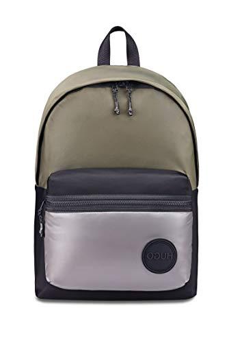 HUGO Herren Record PY_Backpack Rucksack, Black1, ONESI