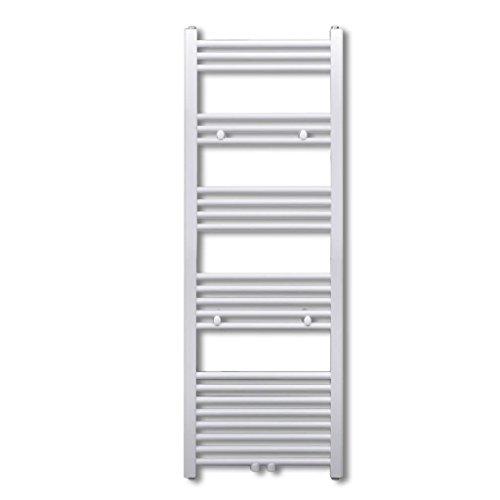 Tidyard Radiateur Sèche-Serviettes Vertical Chauffage Central Eau Chaude pour Salle de Bain 500x1424mm