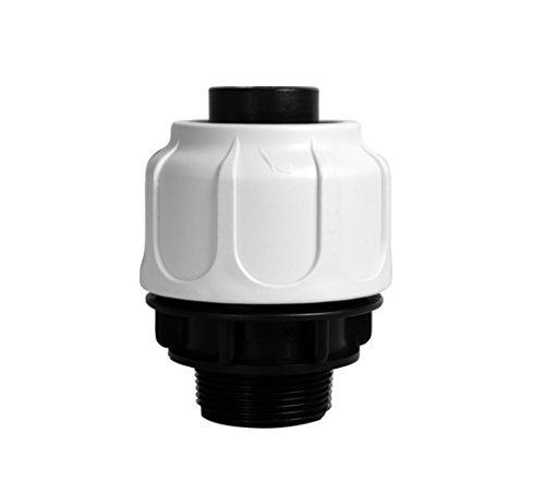 """T.I.P. 30967 Schlauchanschluss Klemmverschraubung 1 ½"""" AG 38 mm für Schwimmbad, Pool und Sandfilteranlagen"""