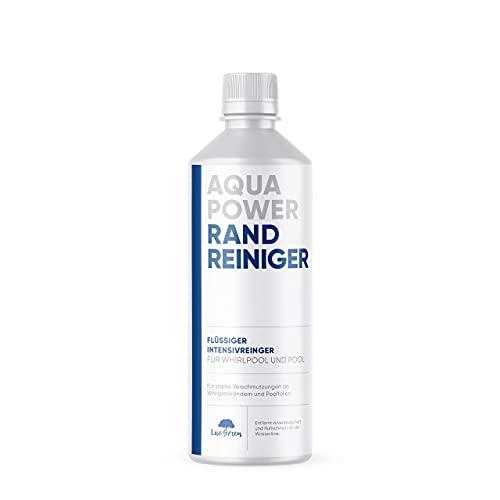 Aqua Power Randreiniger | Beckenrandreiniger - Spezial Randreiniger für alle Pool und Whirlpool Auskleidungen - Abdeckungen und Planen | Pool Reiniger | hochwirksames Konzentrat - 40 Fach verdünnbar