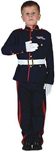 Fancy Me Garçon Enfant Armée Officier Militaire Soldat Forces Armées Costume Déguisement 4-14 an - 4-6 Years