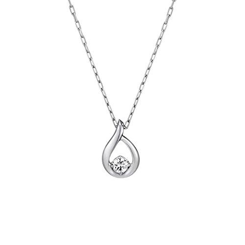 4℃(ヨンドシー) ダイヤモンドK10ホワイトゴールド(WG) ネックレス 111636123209