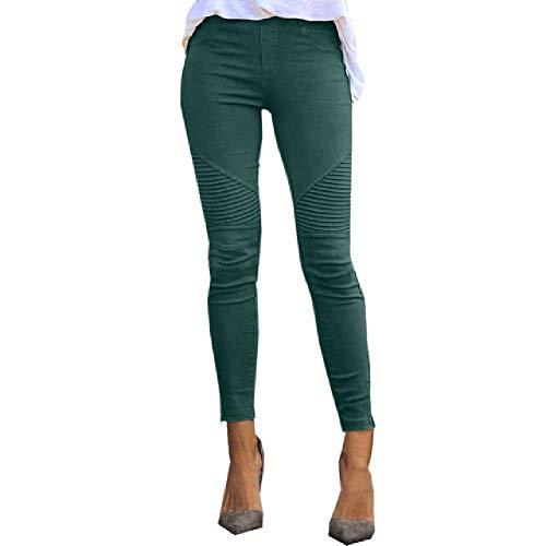 N\P Otoño Mujeres De Cintura Alta Pantalones Slim Fit Slim Pantalones Sexy Mujer Casual Joggers