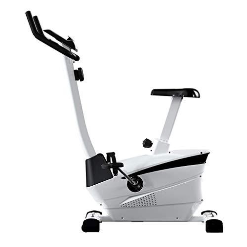 DJY-JY Stepper Muto Indoor attrezzature for il fitness, casa Magnetic Perdita Pedale Cyclette peso Esercizio Bike cuscinetto Peso 120 kg (Colore: Bianco, Dimensione: 48 * 75 * 118CM) Esercizio di bici