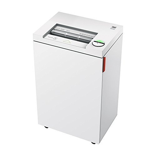New ideal. 2445 High Security Super Micro Cut Deskside Paper Shredder, Continuous Operation, 5-7 She...