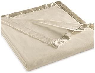 Martha Stewart Easy Care Soft Fleece Blanket (King, Camel Tan)