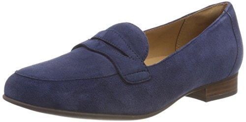 Clarks Damen Un Blush Go Slipper, Blau (Navy Suede), 39 EU
