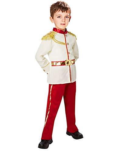 Augwindy プリンス 王子様変身 キングスーツ 子供用 男の子 コスチューム コスプレ なりきり 変装 変身 仮装 発表会 パーティー ハロウィン クリスマス 学園祭 S