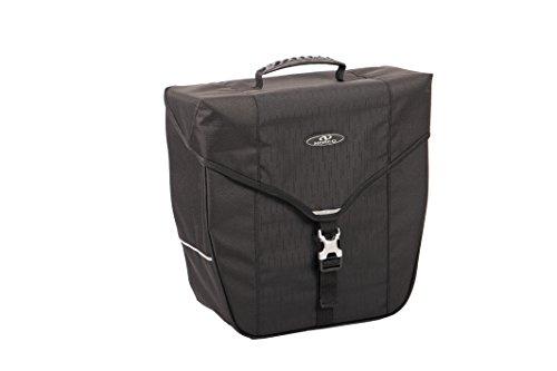 Norco Unisex– Erwachsene Kinsale Gepäckträgertasche, schwarz, 34 x 34 x 14 cm