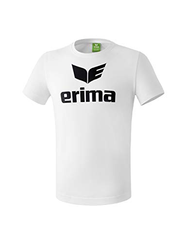 Erima Casual Basics T-Shirt Homme, Blanc, FR : L (Taille Fabricant : L)