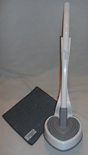 ProWin V7 WC-Cleaner weiß/grau & Hygiene grau 20 cm X 22 cm