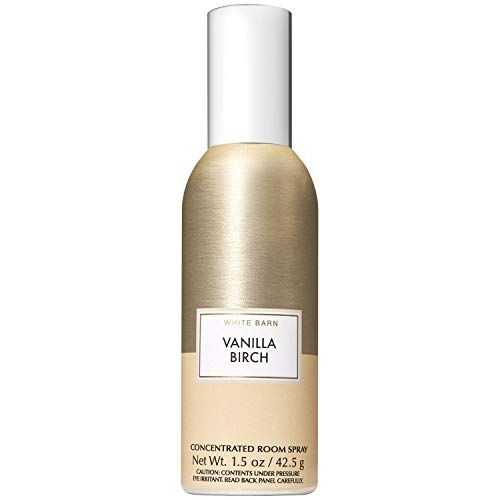 Bath and Body Works Vanilla Birch Concentrated Room Spray 1.5 Ounce (2019 Two-Tone Color Edition)