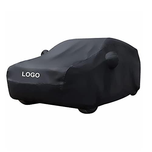 Cubierta para Coche Compatible con Audi S7 Sportback Impermeable Lona para Coche Exterior contra Sol Nieve Polvo Viento Anti-UV Tamaño Universal con Tira Fluorescente B