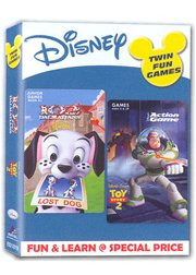 Tfg 102 Dalmatians + Toy Story 2 Action Game (PC)