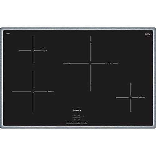 Bosch PIE845BB1E Serie 4 - Placa de cocina, eléctrica, para montaje, 79,5cm,...