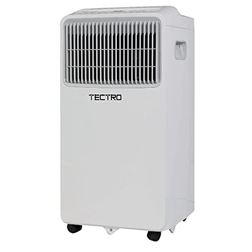 Aire Acondicionado portátil, TP 3020 Tectro, 2-en-1: Aire Acondicionado y deshumidificador, 7000 Btu, Control Remoto, 2 velocidades