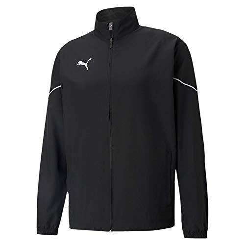 PUMHB|#Puma Teamrise Sideline Jacket, Giacca Tuta Uomo, Puma Black-Puma White, XL