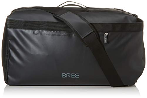 BREE Collection Unisex-Erwachsene Pnch 734, Duffle Backpack Rucksack, Schwarz (Black), 26x55x29 cm