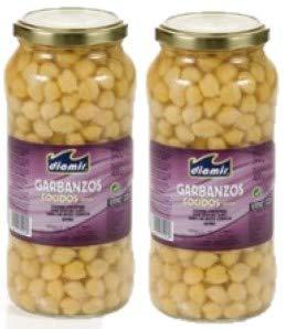 Garbanzo Cocido Extra en tarro - 400gr pack de 2