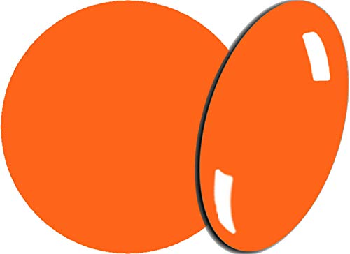 Poudre acrylique couleur #012 - Boîte de 3,5 g - Orange fluo