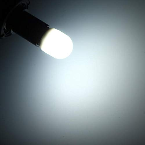 Bombilla de bombillas de luz de iluminación E14 1.5W MINI LED BLANCO / CALIENTE BLANCO LIGHT BOMBILLA INICIO Lámpara de frigorífico AC200-240V Bombillas LED Bombillas halógenas Zzzb ( Color : White )