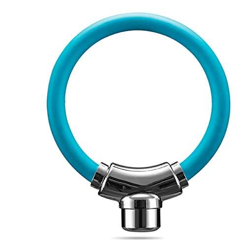 UFFD Candado De Bicicleta Bloqueo De Cable Bloqueo De Bicicleta Bloqueo Antirrobo Anillo De Bloqueo, Libremente Combinable El Nuevo Ultra-pequeño Candado (Color : Pink, Size : 12mm-300mm)