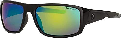 Greys Polarisiert Angel-Sonnenbrillen g1 G2 G3 G4 Angeln Brille neu 2018 - G2 Glanz blk / grün Spiegel, G2 GLOSS BLACK/GREEN MIRROR